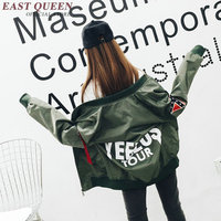 Mulheres jaquetas de manga longa feminino jaquetas bomber piloto bomber jacket mulheres 2017 new arrivals NN0698 H