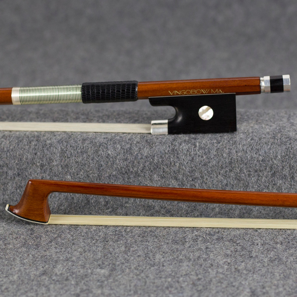 VingoBow Pro. Nivel Pernambuco Violin Bow ** Pret special acum ** Cald Sweet Tone 4/4 Dimensiune Straight Whit Horse Model 952V
