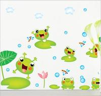 Güzel Çiçekler Mor krizantem Duvar Çıkartmaları Ev Dekor Backdrop Çıkartması Duvar dekor 60*90 cm duvar kağıdı Için Ücretsiz Kargo