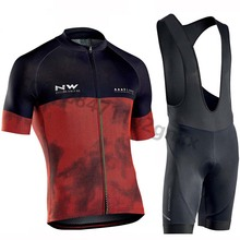 Northwave Short Sleeve Cycling Jersey pro team Breathable MTB Cycling Clothing NW Men Bike Maillot Ropa Ciclismo Bib Shorts Set cycling jersey 2018 pro team short sleeve cycling sets bib pant men s ropa ciclismo maillot ciclismo summer breathable bike kit