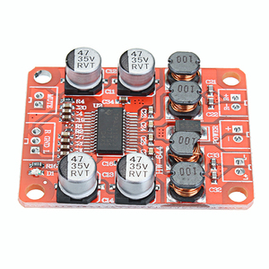 Image 2 - LEORY 5pcs TPA3110 DC 12V Dual Channel Stereo Digital Amplifier Board For 4/6/8/10 Ohm Speaker 24V 2x15W