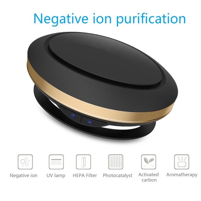 Creative Design Home Car Dual Purpose Air Purification Humidifier Intelligent Car Anion Sterilization Aromatherapy Humidifier