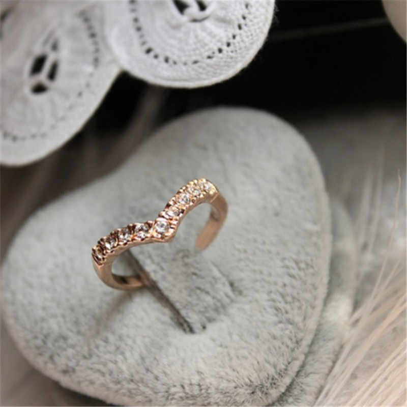 5pcs/Set  Ring Sets Mix Celebrity Fashion Simple Retro 316L Stainless Steel Finger Ring Women Jewelry