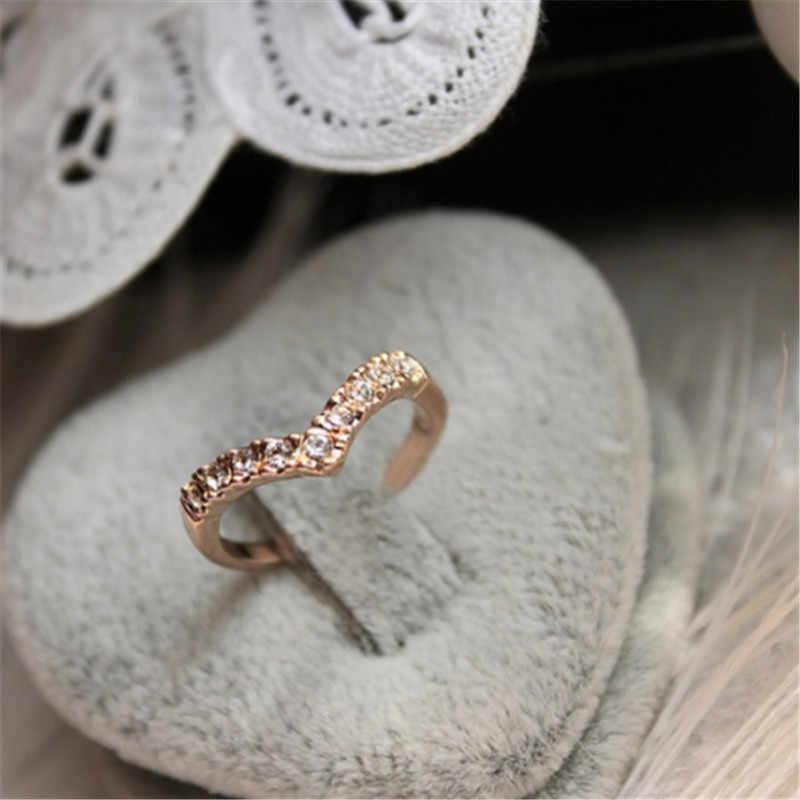 5 шт./компл. набор колец микс знаменитостей Мода простой ретро 316L нержавеющая сталь женский перстень ювелирные изделия
