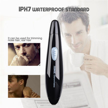 Nose Hair Trimer Electric Nose Trimmer For Men Beauty With Blade Washable Nose and Ear Hair Trimer Nose Hair Removal Clipper 47(China)