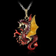 Game Of Thrones Dragon Crystal Pendant