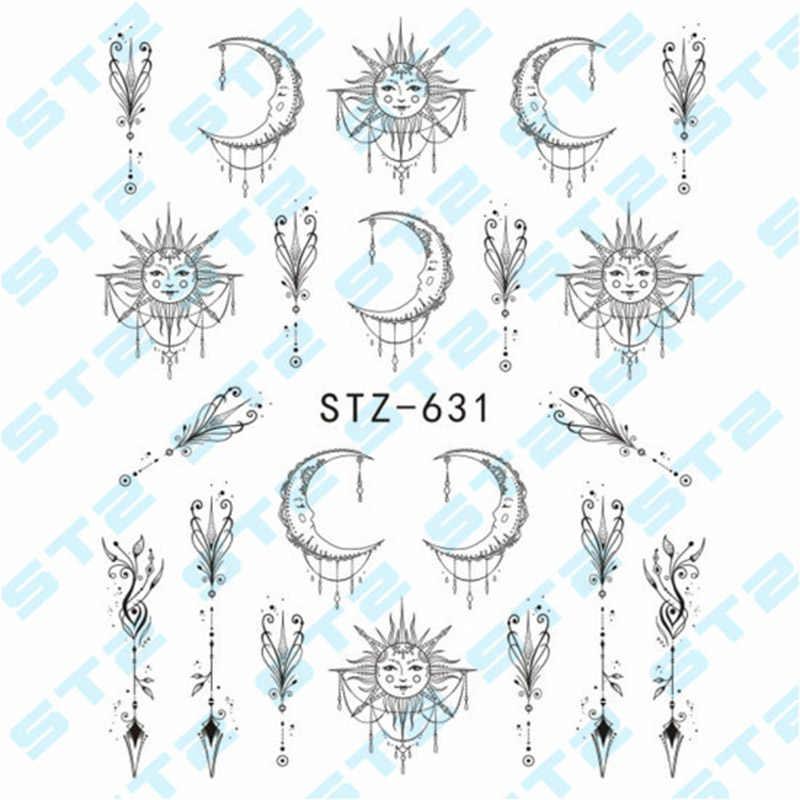 3 pcs เล็บสติกเกอร์ลูกไม้สร้อยคอสร้อยข้อมือออกแบบเล็บ Art Decals เคล็ดลับ DIY เล็บเครื่องมือ CD88