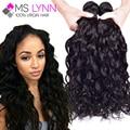 7A Cabelo Brasileiro Virgem 4 Feixes de Ondas Naturais Ms Lynn Produtos para o cabelo Brasileiro Do Cabelo Humano Weave Bundles No Mix Barato cabelo