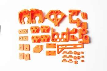 1 セット品質 Reprap Prusa i3 MK3 クマアップグレード印刷された部分 PLA オレンジ色