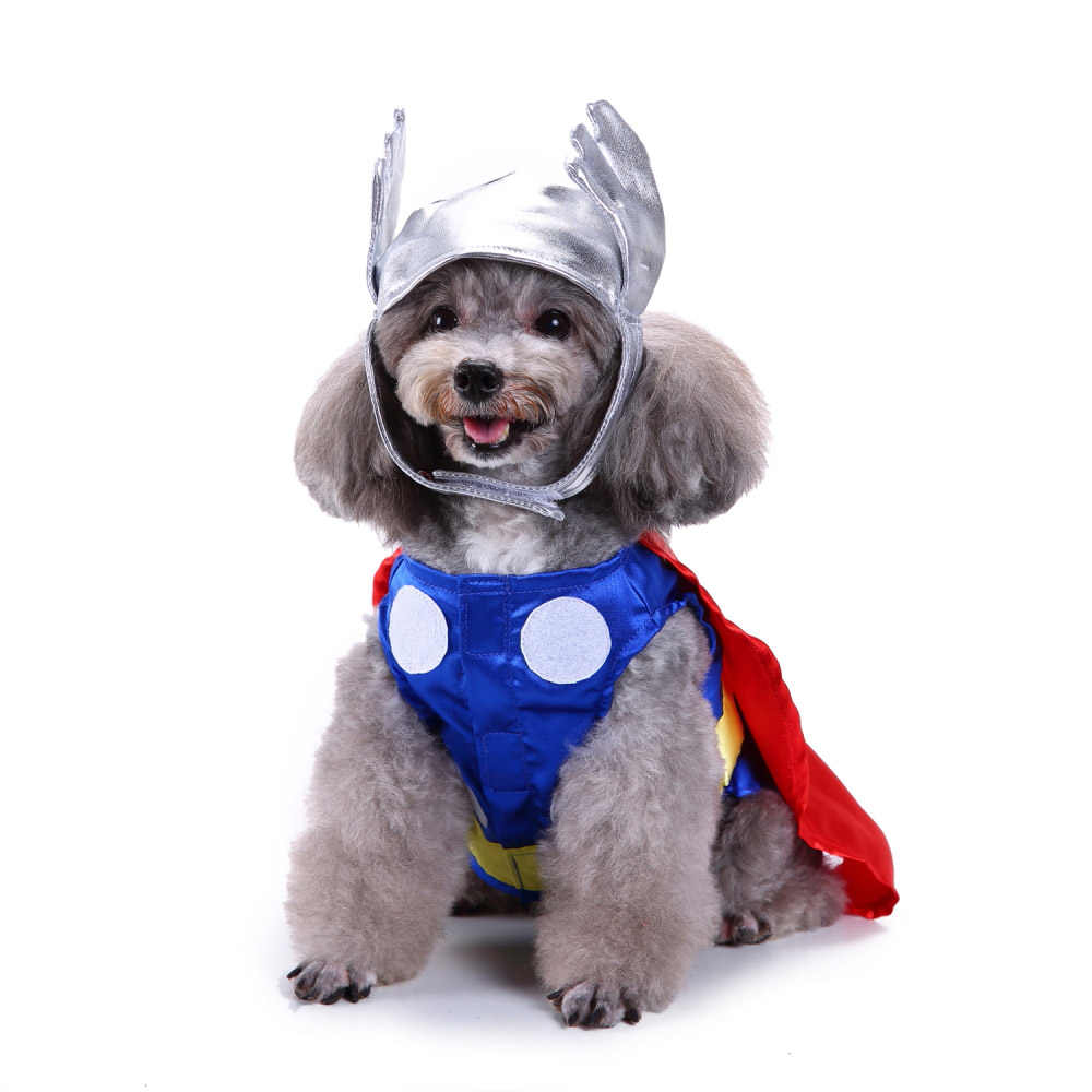 d47f848d8b9b2 Funny Dog Costume Winter Pet Clothes For Dogs French Bulldog Clothing  Chihuahua Outfit Cat Suit Halloween