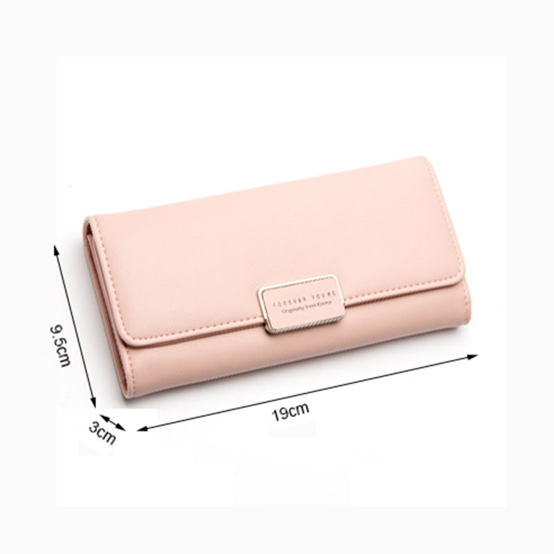 Women's Purse Women Wallet Long Passport Bag Fashion Female Coin Clutch Card Holder Luxury Designer Simple Wallets Female Purse