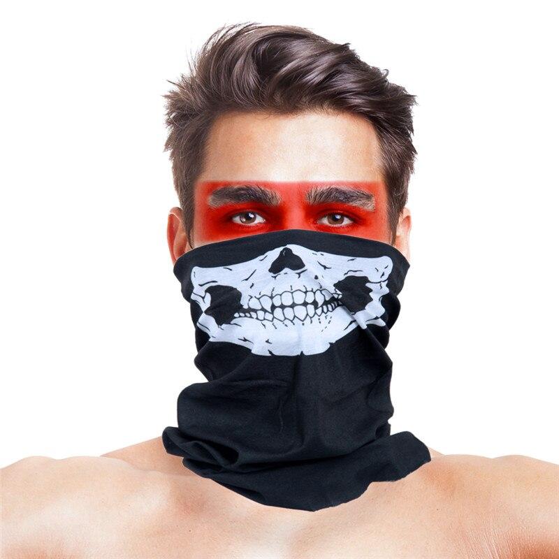 Военные страйкбол маски для вечеринки Полиэстеровые повязки на голову шарф Вечерние Маски унисекс головной убор Хэллоуин пугающая маска - Цвет: 053