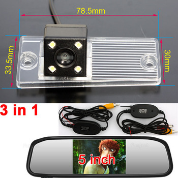 For Kia Cerato RIO 2003 2004 2005 2006 2007 2008 2009 2010 2012 Auto Reverse Rear View Parking Wireless GPS DVD Camera Monitors image