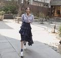 Victorian Gothic Ruffle Steampunk Vintage Style Skirt