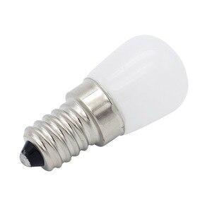 Image 4 - Mini E14 COB مصباح ليد Blub 2835 سمد زجاج مصباح ل ثلاجة الفريزر ماكينة خياطة إضاءة المنزل