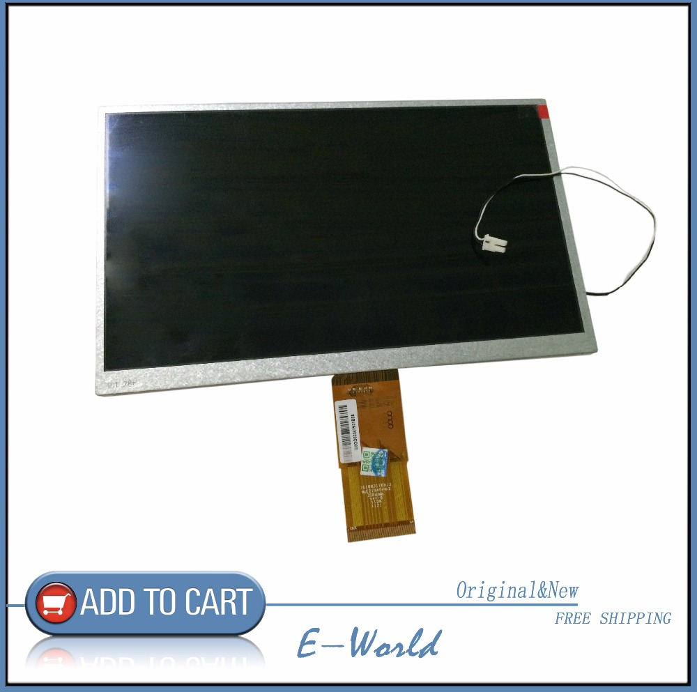 Original and New 10.1inch 60pin LCD screen 76100317681B E219454 for Car DVD display free shipping