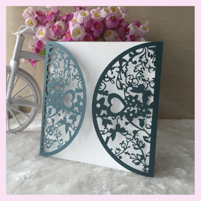30pcs personalized 250gsm pearl paper laser cut paper card 30pcs personalized 250gsm pearl paper laser cut paper card wedding party birthday invitation card stopboris Images
