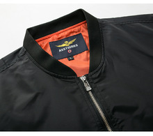 Jacket Bomber Overcoat PU27