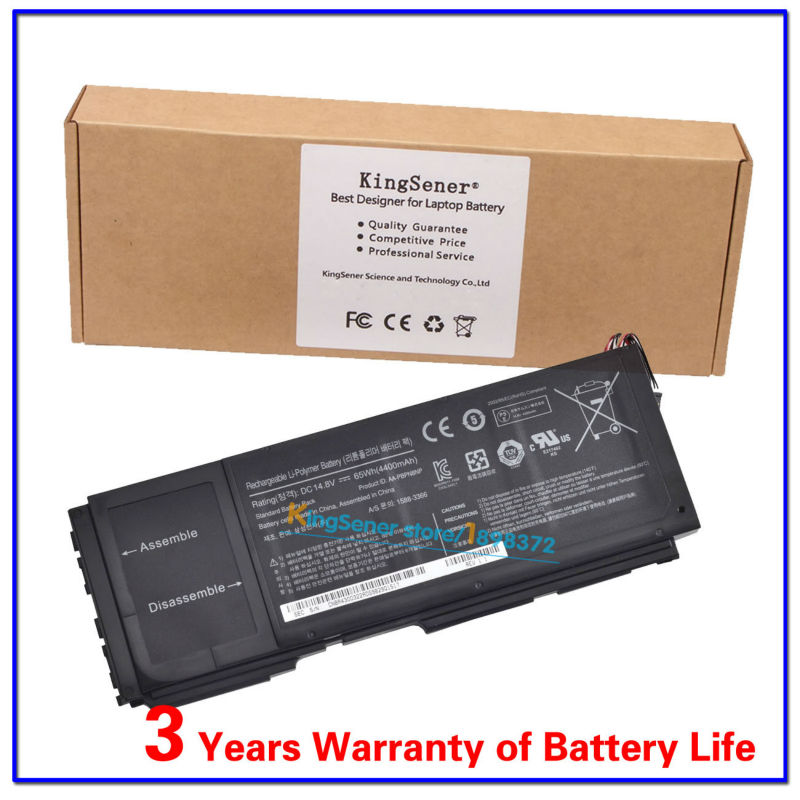 где купить  KingSener 14.8V 65WH Laptop Battery AA-PBPN8NP For SAMSUNG NP700Z NP700Z3A NP700Z3C NP700Z4A BA43-00322A Built-in Battery  дешево