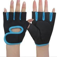Erwachsener Gewichtheben-halbe Finger-Trainingshandschuhe Eignungs-Gymnastik-Radfahrensport-Handschuhe neuestes