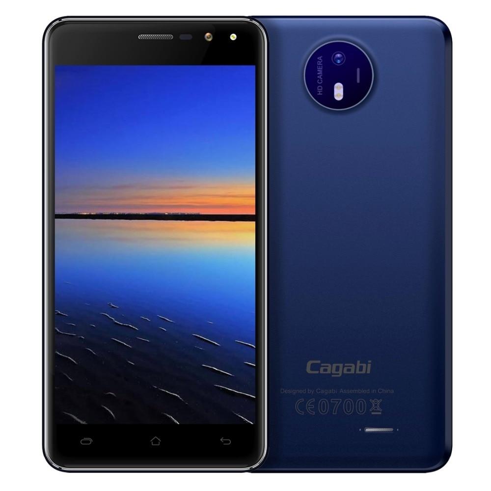 Original VKworld Cagabi One Mobile Phone 5.0 inch HD IPS MTK6580A Quad Core Android 6.0 1GB RAM 8GB ROM 5MP Cam Dual Flash GPS
