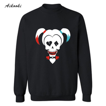 Hot sale High Quality Suicide Squad Fashion Sweatshirt Men Luxury in Streetwear Style hoodies men Mens