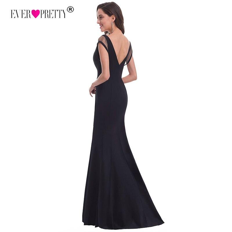 2019 Новый Сексуальный Русалка Вечерние платья с низким вырезом на спине когда-либо довольно EP07036 Для женщин V шеи выдалбливают для вечеринки ...