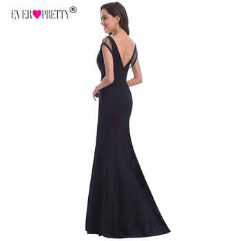 2019 New Sexy Mermaid Backless Evening Dresses Ever Pretty EP07036 Women\'s V Neck Hollow Out Sleeveless Evening Party Dresses - SALE ITEM Weddings & Events