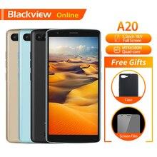 Blackview Original A20 Mobile Phone 5.5″ 1GB+8GB MTK6580M Quad-Core Android GO 18:9 Full Screen Dual SIM Fashion Slim Smartphone