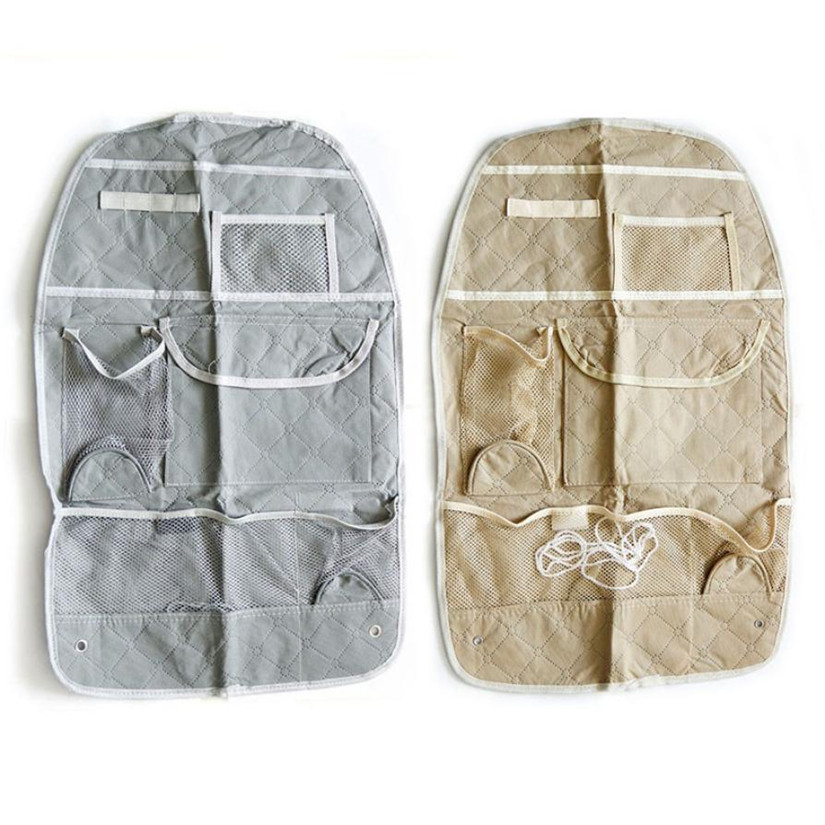 New Qualified Car Auto Care Seat Protector Cover Storage Bag Pouch For Children Kick Mat Mud Levert Dropship dig634