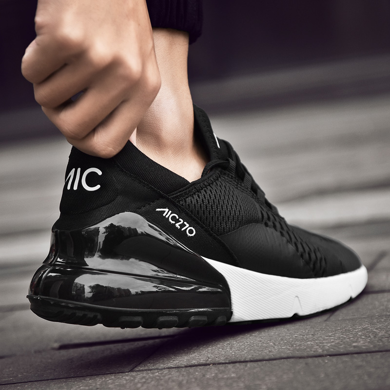 New   Men Women Running Shoes Summer 2019  Air Sneakers Lace Up