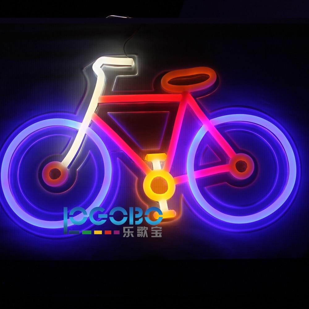 Առաջնորդված Neon Sign հեծանիվ ձեռքի - Կոմերցիոն լուսավորություն - Լուսանկար 2