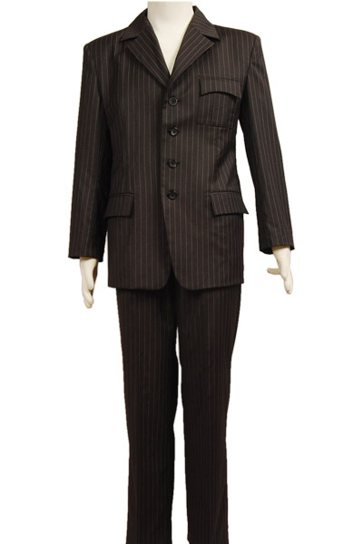 Popular Brown Pinstripe Suit-Buy Cheap Brown Pinstripe Suit lots