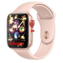 Часы SmartWatch iwo 8 Мода relgio iwo 44 мм с пульсометром ЭКГ мера для iphone 6 7 8 X samsung huawei xiaomi mi