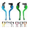 Brake Clutch Levers CNC For DUCATI MONSTER 696 2009-2014 Monster 796 2011-2014 Motorcycle Adjustable Lever with Adjuster