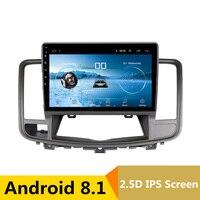 10 2.5D IPS Android 8,1 DVD мультимедиа плеер gps для Nissan Teana 2008 2009 2010 2012 2011 аудио Радио стерео навигации