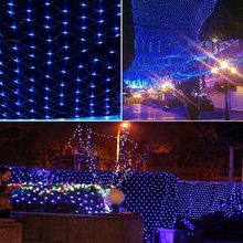 810m 1920led net light waterproof decorative led net mesh fairy string light with 8 function controller - Multi Function Led Christmas Lights