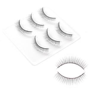 Image 2 - ICYCHEER 3 пары натуральных мягких 3D накладных ресниц, натуральный вид ресниц, ресницы для макияжа, косметика для красоты