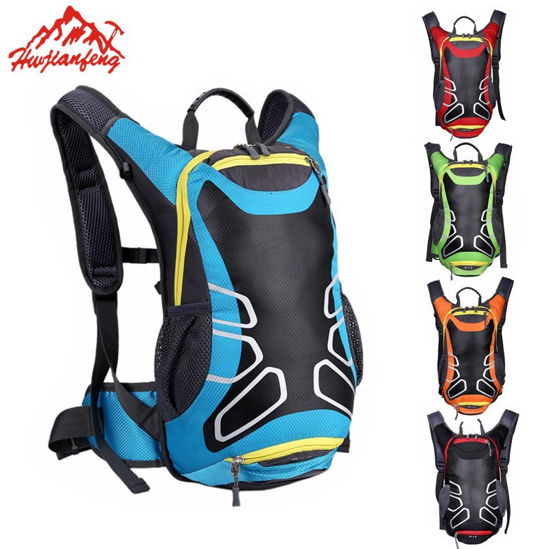 HU WAI JIAN FENG Bicycle Bag Shoulder Backpack Ultralight Sport Riding MTB Hydration Backpack 15L Bike Bicycle Cycling Backpack bicycle backpack mtb outdoor enquipment 40 l suspension breathable panniers cycling backpack climbing riding bicycle bike bag