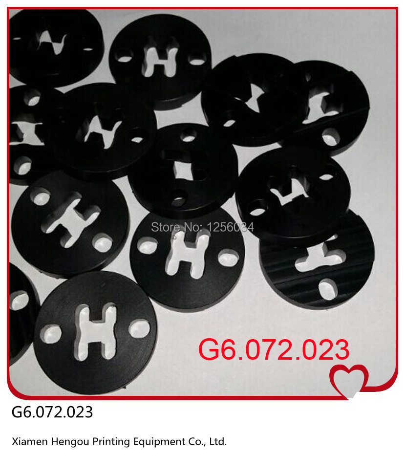 3 pieces rubber pads for speedmaster52 spare parts G6.072.023, parts heidelberg sm52