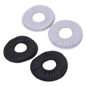 Image 2 - Aloyseed 2 adet 70mm yumuşak köpük deri yedek kulak pedleri yastık Sony MDR ZX100 ZX300 V150 V300 kulaklık kulaklık yastıkları