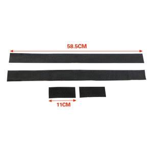 Image 4 - Zlord Car Interior 4Pcs/set car trunk Fire Extinguisher holder nylon bar Strap Safety Protection Kit for C HR 2016 2017 2018