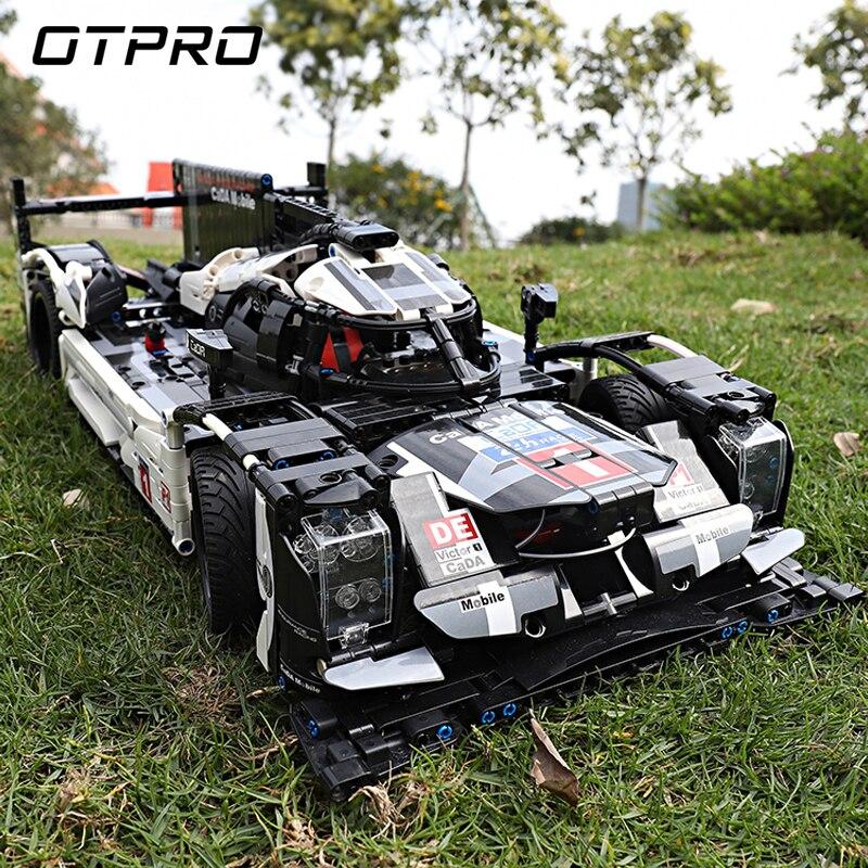 1586 pièces Super Sport voiture vitesse Champions ville MOC créateur bloc de construction briques bricolage jouets pour enfants CADA Mobile legoing Technic - 2