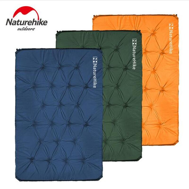 Naturehike Automatic Inflatable mattress double bed Camping mat air mattress Outdoor tent sleeping pad Travel mat 180*112*3cm manual kitchen stainless steel egg beaters whisk mixer cream baking blender 10 inch