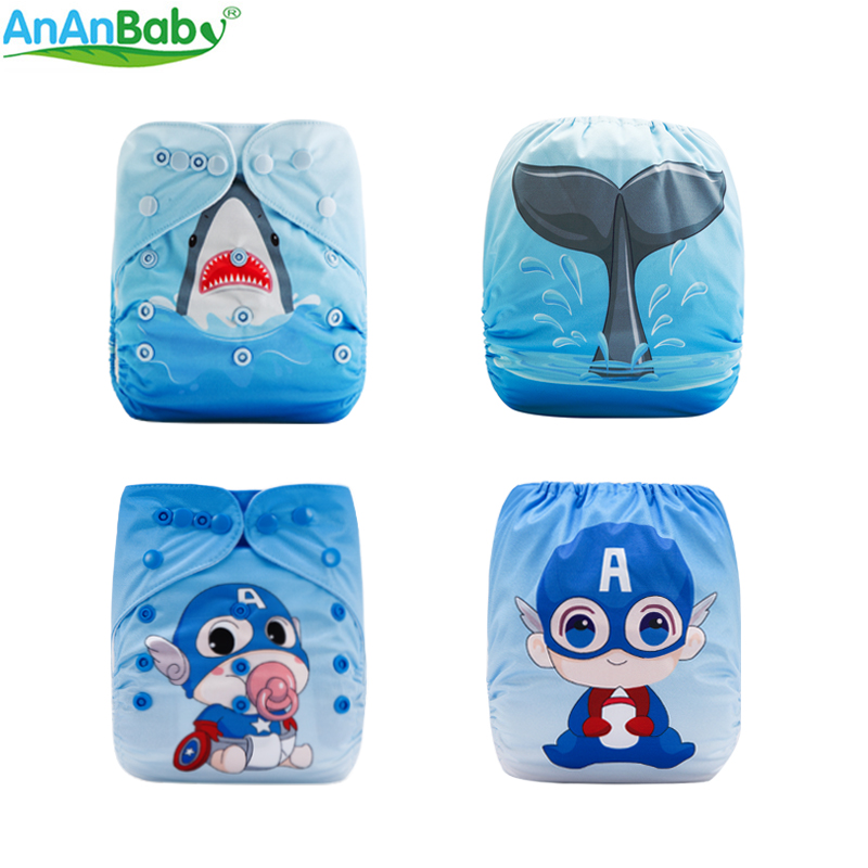 One Size Fit All Cloth Nappy And Washable Breathable PUL Position Prints Cloth Diapers China Supplier DY Series