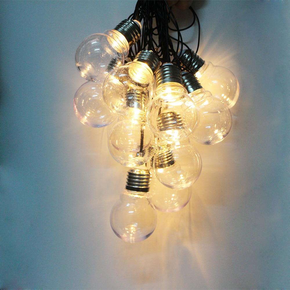 5m led wedding fairy string light christmas light garland 20 led globe ball string fairy light. Black Bedroom Furniture Sets. Home Design Ideas