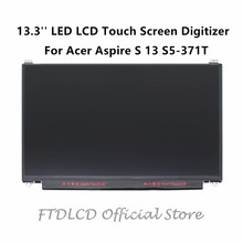 "FTDLCD 13.3"" For Acer Aspire S 13 S5-371T LED LCD Touch Screen Digitizer Replace Laptop Computer Component 1920×1080"