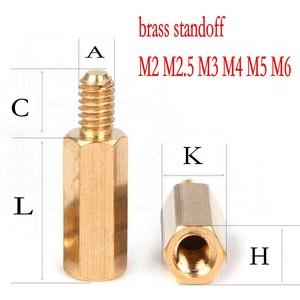 100PCS brass standoff M2 M2.5