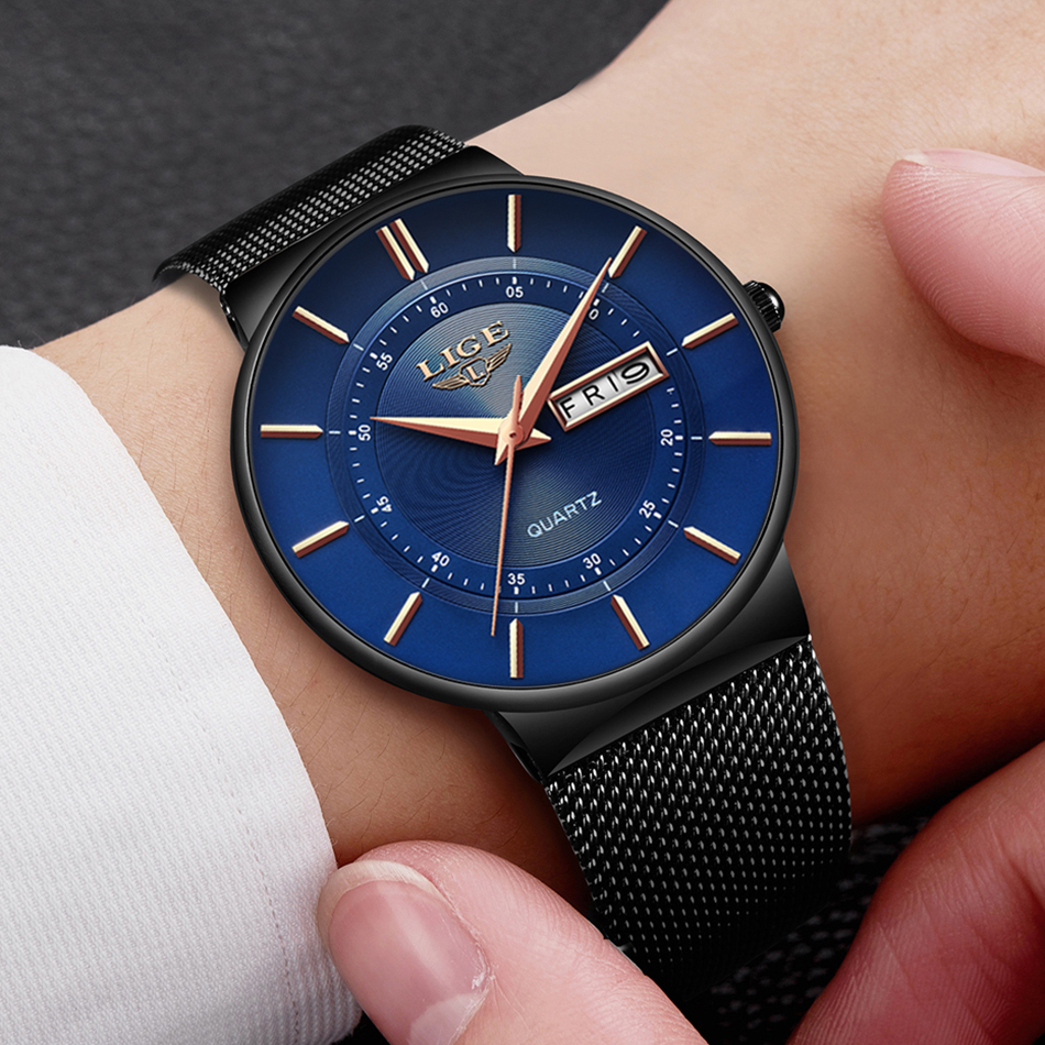 HTB1vaIKaUCF3KVjSZJnq6znHFXaY Mens Watches LIGE Top Brand Luxury Waterproof Ultra Thin Date Clock Male Steel Strap Casual Quartz Watch Men Sports Wrist Watch