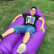 Violet Bag Air, Inflatable Beanbag Sofa Chair, Living Room Bean Bag Cushion, Outdoor Self Inflated Beanbag Comfortable Furniture